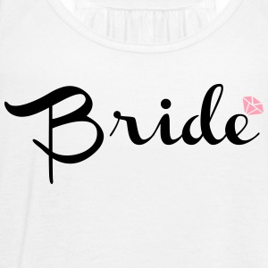 Bride - Women's Flowy Tank Top by Bella