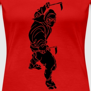 Tribal Ninja T - Women's Premium T-Shirt