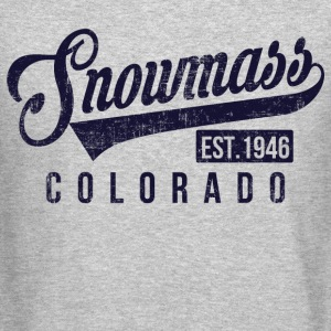 Snowmass Colorado Long Sleeve Shirts - Crewneck Sweatshirt