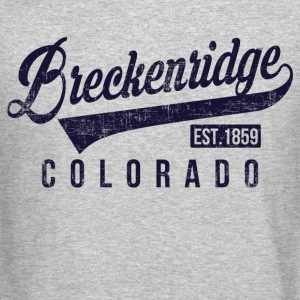 Breckenridge Colorado Long Sleeve Shirts - Crewneck Sweatshirt
