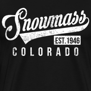 Snowmass Colorado T-Shirts - Men's Premium T-Shirt