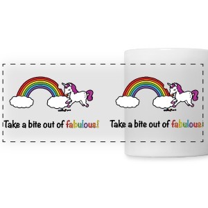 Take a bite out of fabulous! Accessories - Panoramic Mug