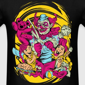 HALLOWEEN CLOWN MEN T-SHIRT - Men's T-Shirt