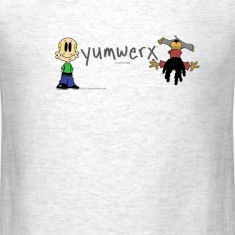 yumwerx logo men's t-shirt