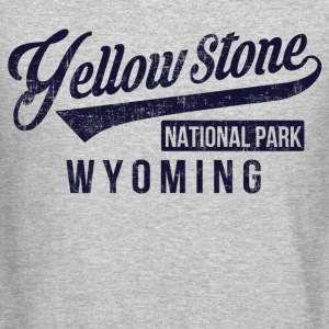 Yellow Stone Long Sleeve Shirts - Crewneck Sweatshirt