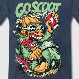 Go Scoot - Men's Premium T-Shirt