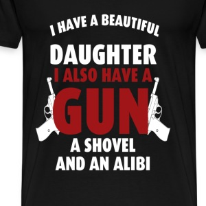 Gun rights T-shirt - I also have a gun - Men's Premium T-Shirt