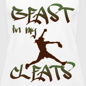Softball - Beast in my Cleats - Women's Premium Tank Top