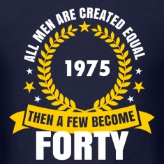 1975 forty birthday T-Shirts