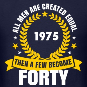 1975 forty birthday T-Shirts - Men's T-Shirt