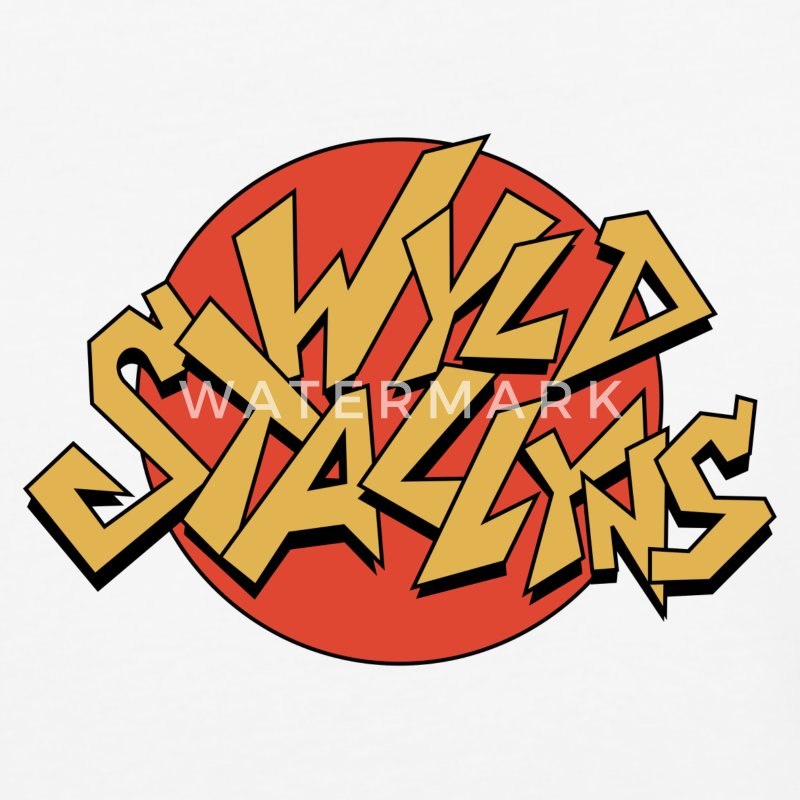 Wyld Stallyns logo from Bill and Ted's T-Shirts - Baseball T-Shirt