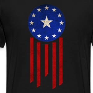 Old World Flag - Courier Six - Men's Premium T-Shirt