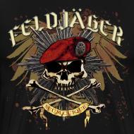 Design ~ Feldjager Skull w/ Prussian Star
