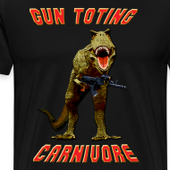 Design ~ Gun Toting Carnivore II T-Rex
