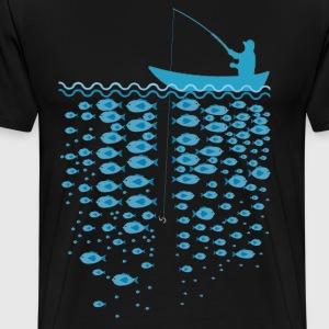 fishing.png T-Shirts - Men's Premium T-Shirt