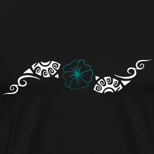 flower Maori - Men's Premium T-Shirt