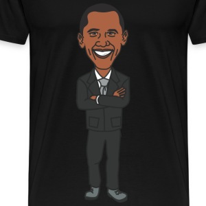 President Barack Obama - Men's Premium T-Shirt