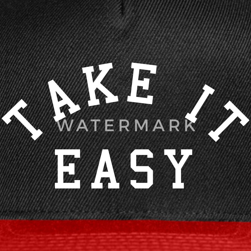 Take It Easy Caps - Snap-back Baseball Cap