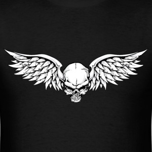 Winged Skull T-Shirts - Men's T-Shirt