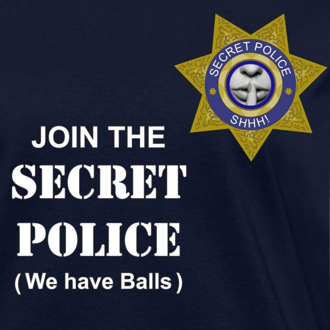 Secret Police Balls f