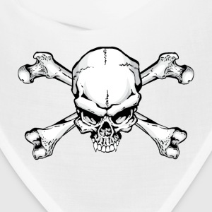 Pirate Skull and Crossbones Caps - Bandana