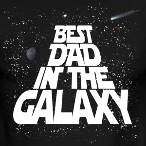 Galaxy Best Dad T-Shirts - Men's Ringer T-Shirt
