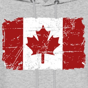 Canada Maple Leaf Flag - Vintage Look Hoodies - Men's Hoodie