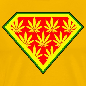 Superweed Rasta Edition.png T-Shirts - Men's Premium T-Shirt