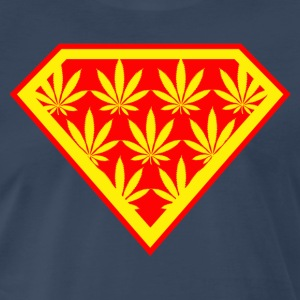 SUPERWEED RED YELLOW.png T-Shirts - Men's Premium T-Shirt
