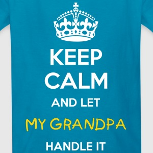 KEEP CALM & LET (+YOUR TEXT) HANDLE IT KID T-SHIRT - Kids' T-Shirt