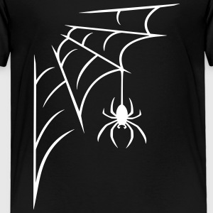 Spider with web Baby & Toddler Shirts - Toddler Premium T-Shirt