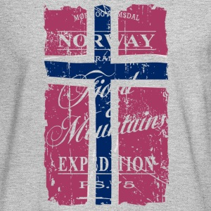 Norway - Fjord & Mountains Long Sleeve Shirts - Men's Long Sleeve T-Shirt