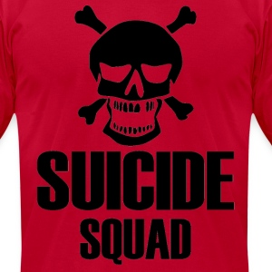 Suicide Squad tshirt - Men's T-Shirt by American Apparel