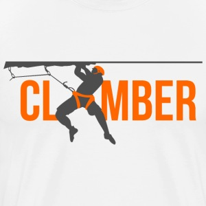 wall climber - Men's Premium T-Shirt