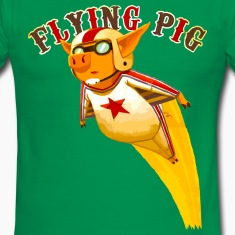 flying pig T-Shirts