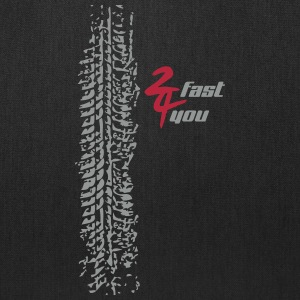 2 fast 4 you - Tote Bag