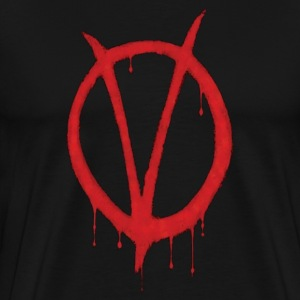 V for Vendetta shirt - Men's Premium T-Shirt