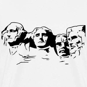 Mount Rushmore - Men's Premium T-Shirt