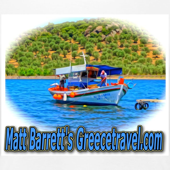 GreeceTravel Fishing Boat (women)