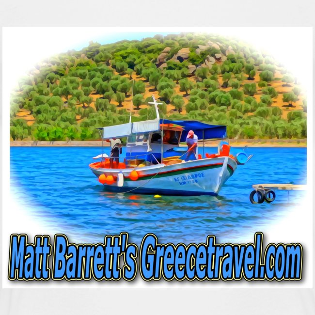 GreeceTravel Fishing Boat (kids)