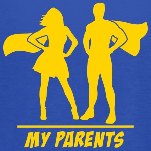 My Parents are Superheroes Tanks - Women's Flowy Tank Top by Bella