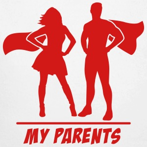 My Parents are Superheroes Baby & Toddler Shirts - Long Sleeve Baby Bodysuit