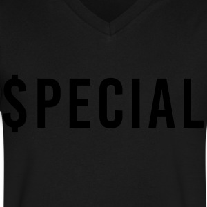 $pecial - Stealth mode - Men's V-Neck T-Shirt by Canvas