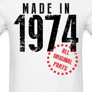 Made In 1974 All Original Parts T-Shirts - Men's T-Shirt