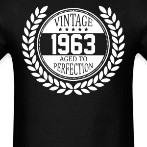 Vintage 1963 Aged To Perfection T-Shirts - Men's T-Shirt