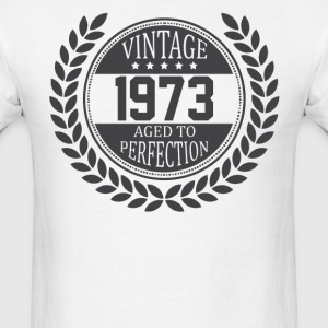 Vintage 1973 Aged To Perfection T-Shirts - Men's T-Shirt