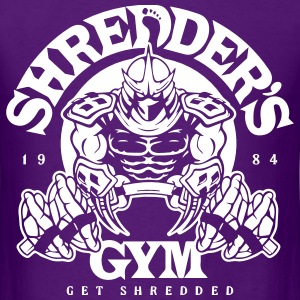 shredder's gym T-Shirts - Men's T-Shirt