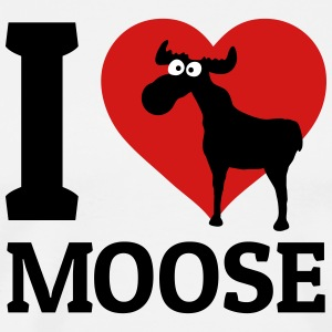 I love Moose T-Shirts - Men's Premium T-Shirt