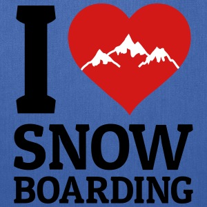 I love Snowboarding Bags & backpacks - Tote Bag