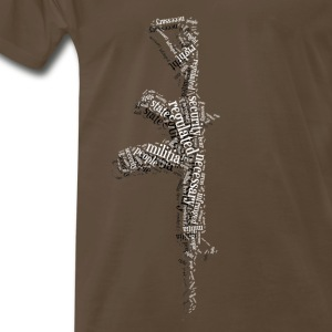 Men's 2nd Amendment AR15 Shirt  - Men's Premium T-Shirt